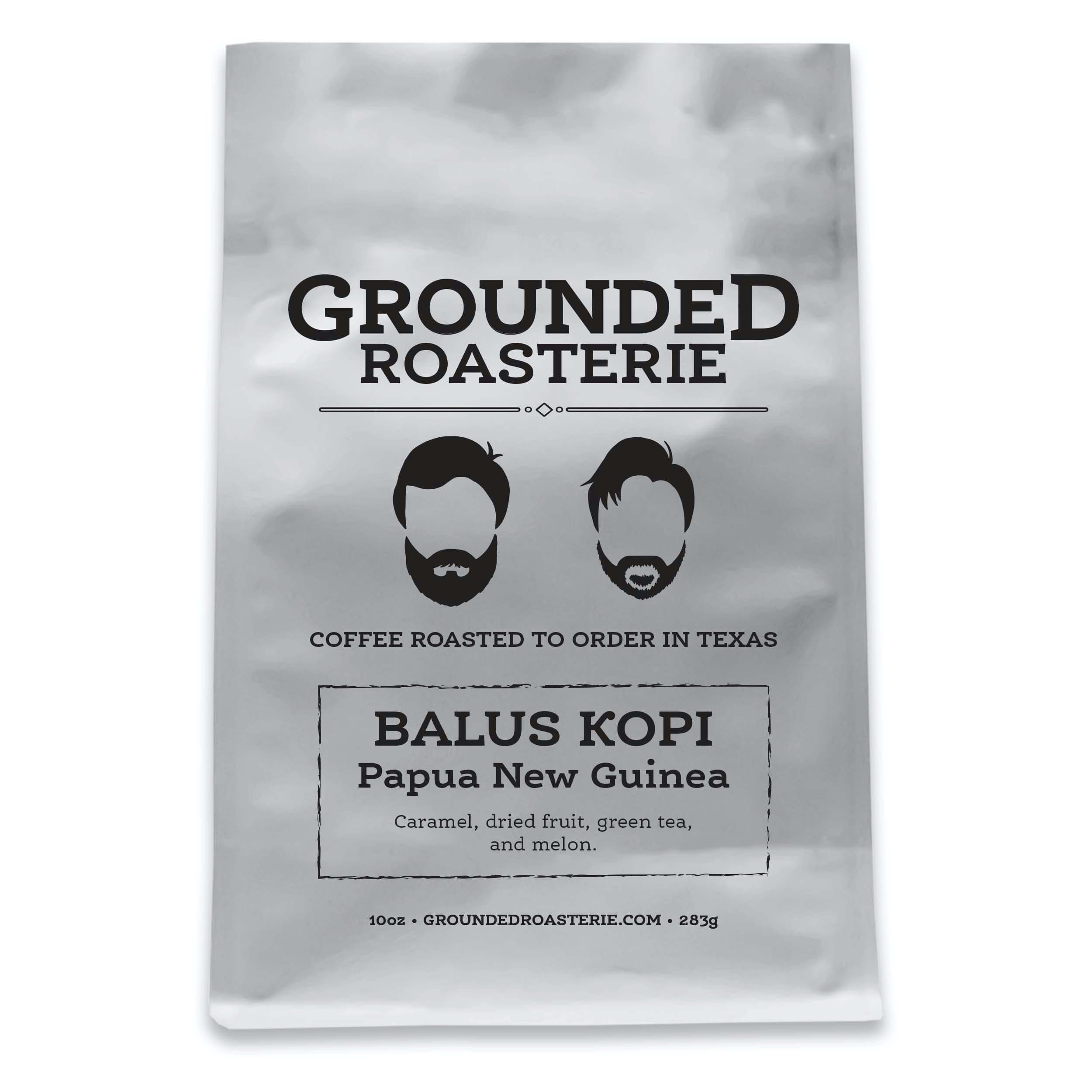 Papua New Guinea Balus Kopi from Grounded Roasterie