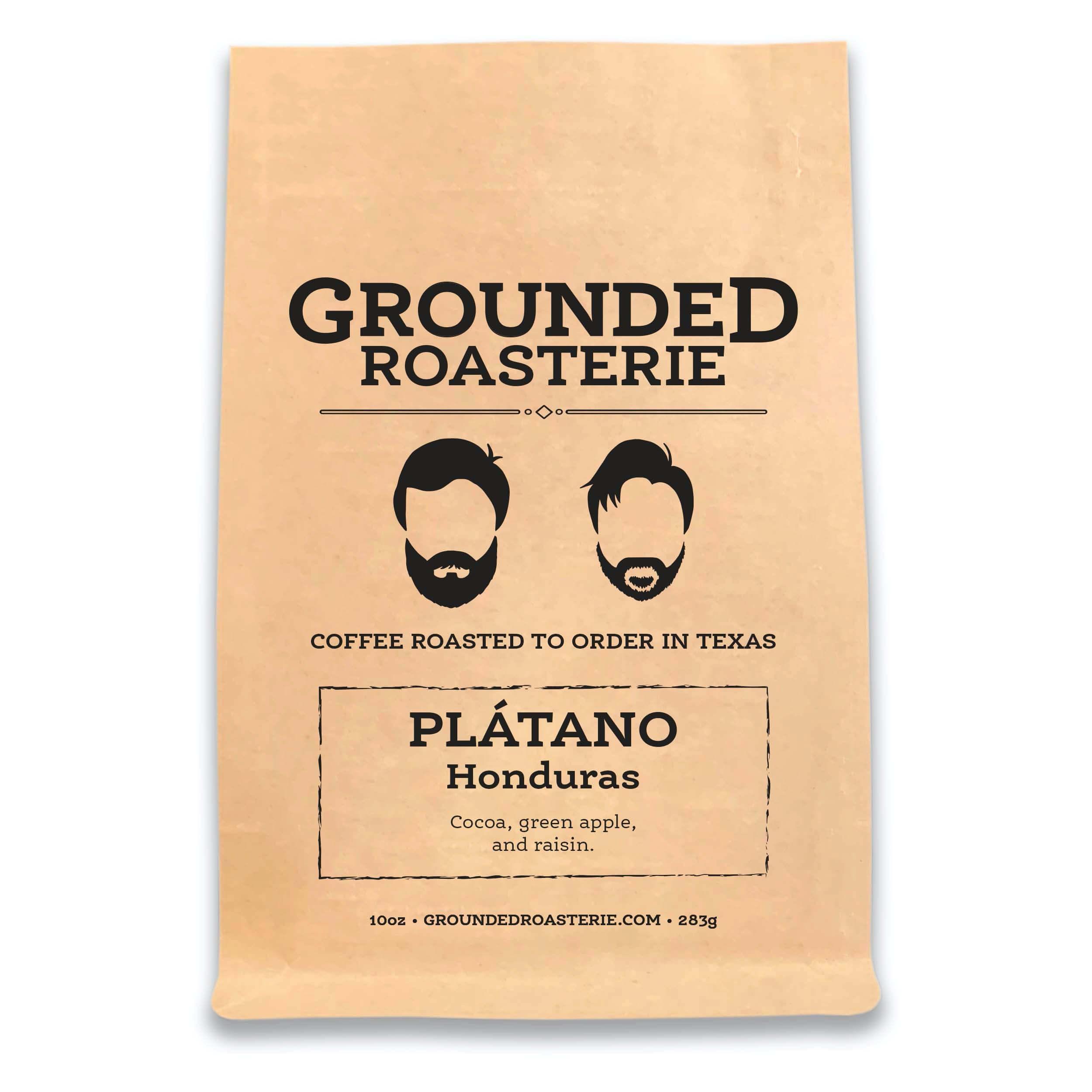 Honduras Plátano from Grounded Roasterie