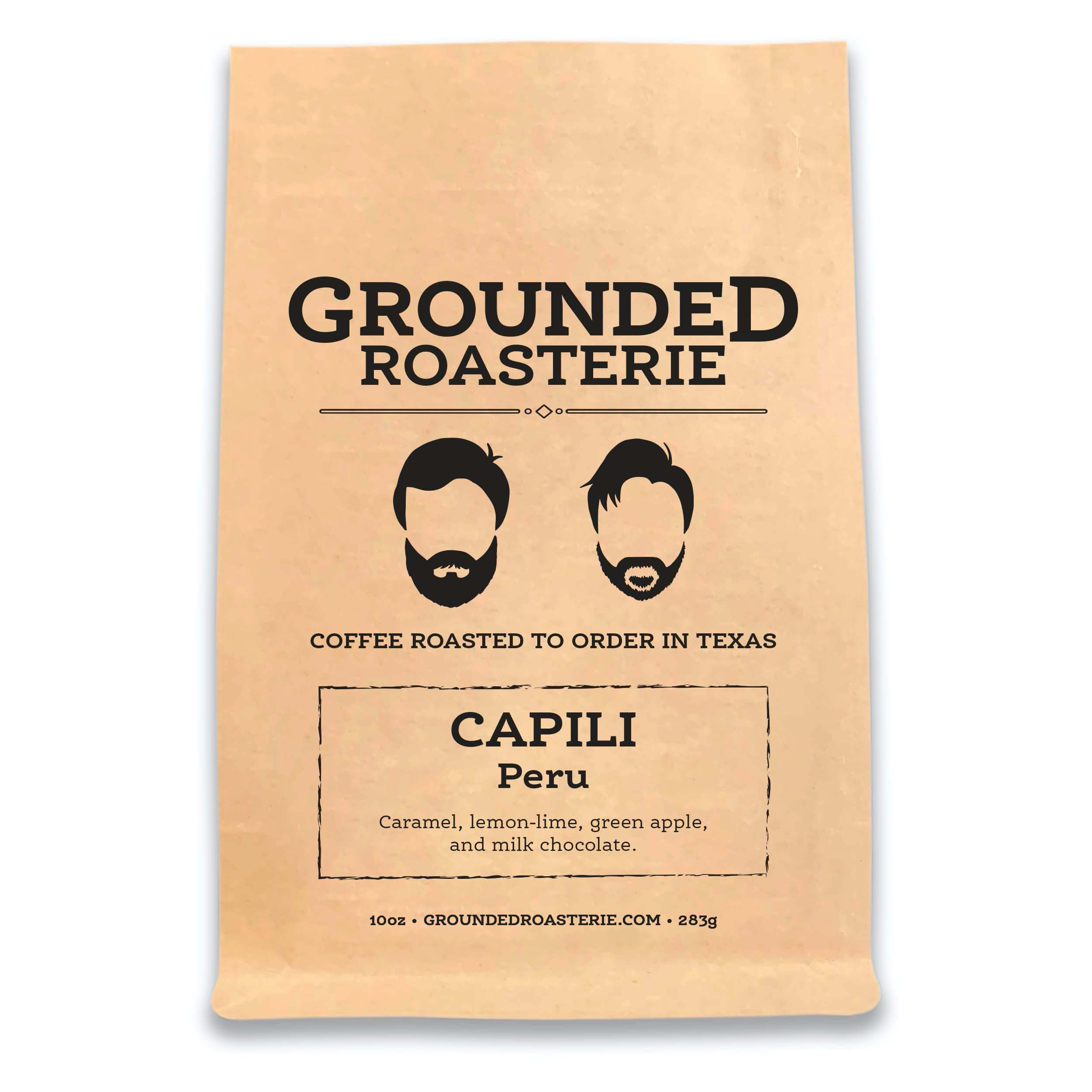 Peru Capili from Grounded Roasterie