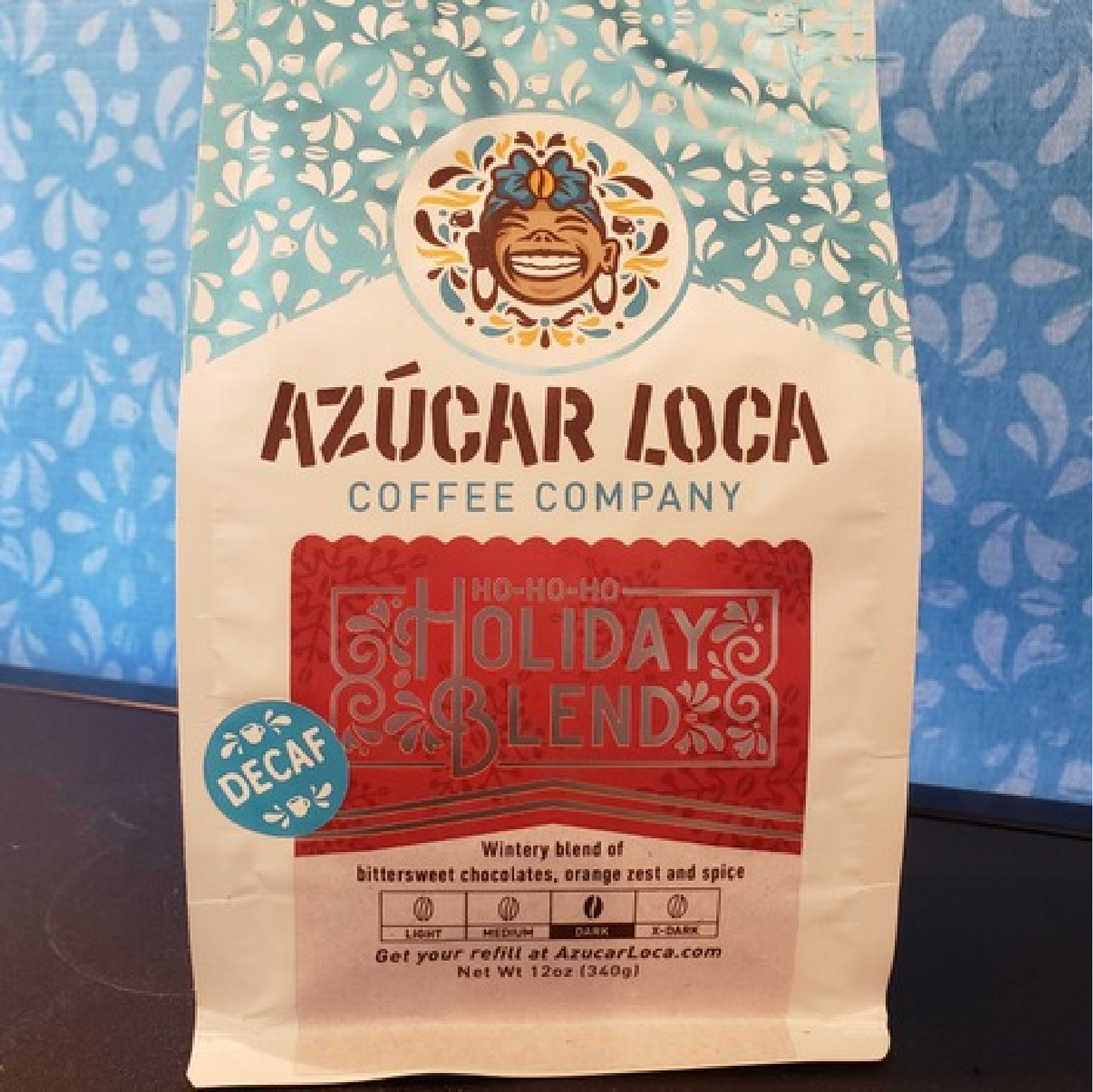 Holiday Blend - Decaf from Azucar Loca Coffee Company