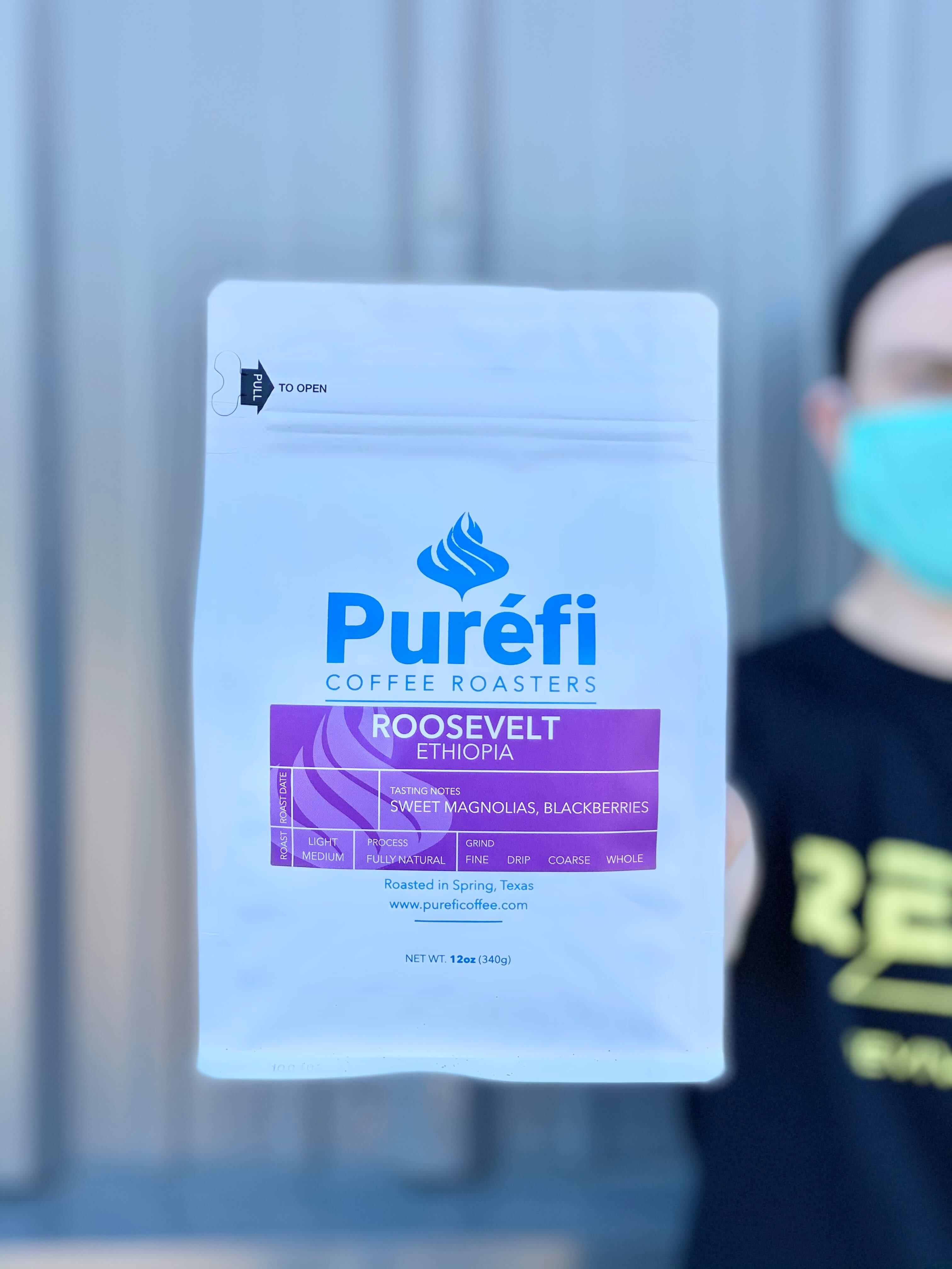 Roosevelt from Purefi Coffee Roasters