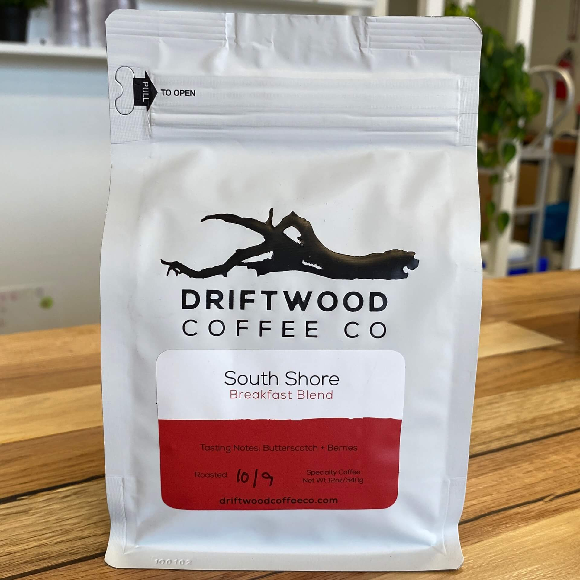 South Shore Breakfast Blend from Driftwood Coffee Co