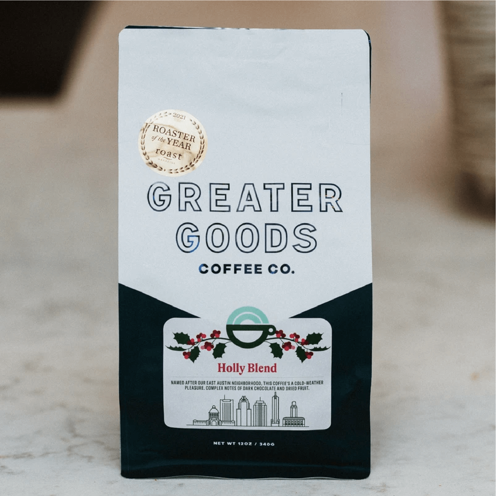 Holly Blend from Greater Goods Coffee Co.