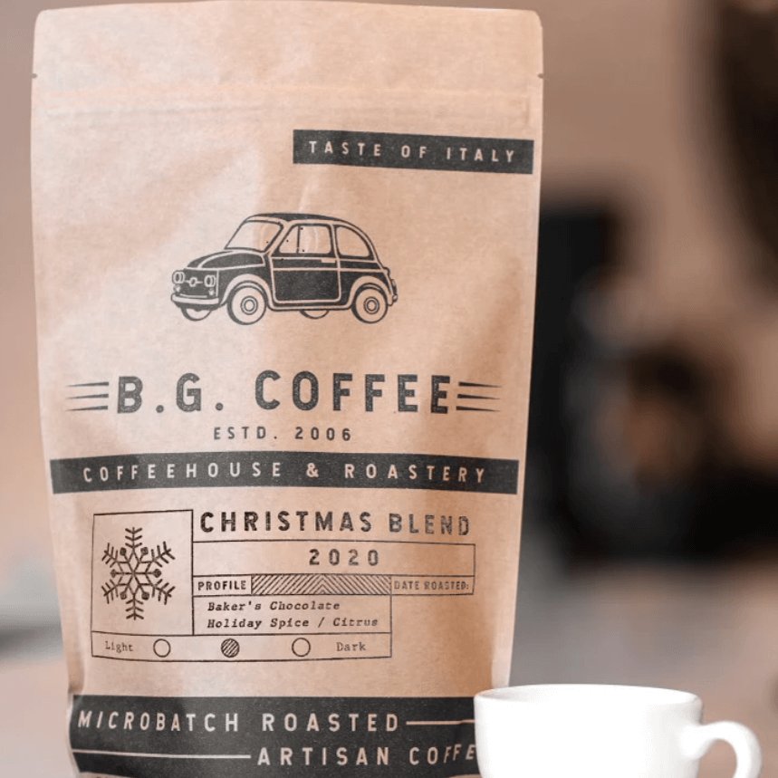 Christmas Blend 2020 from Buon Giorno Coffee