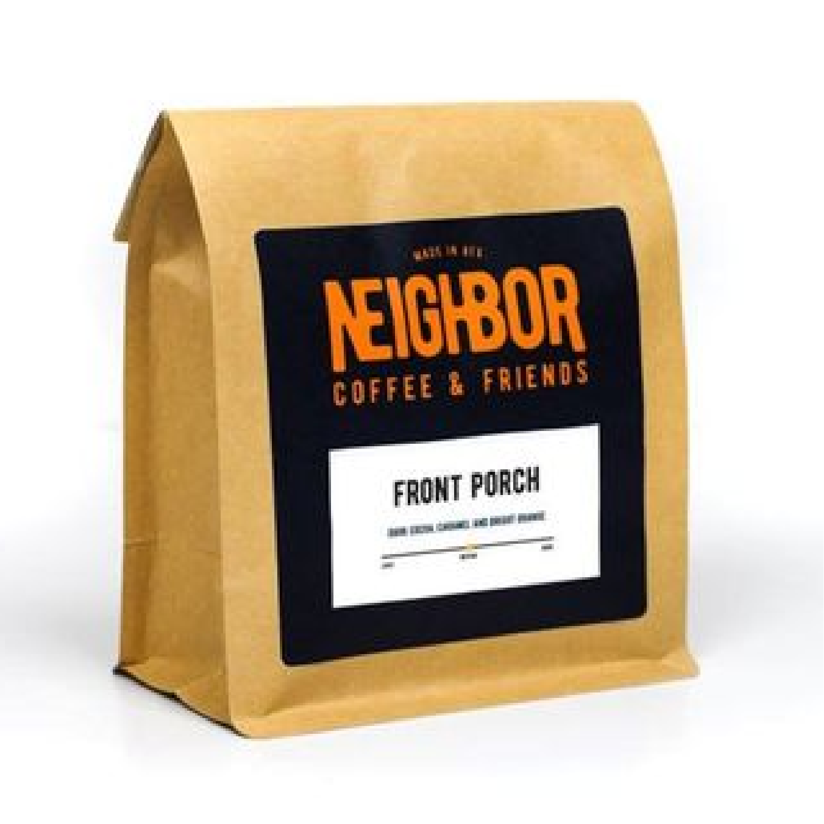 Front Porch from Neighbor Coffee And Friends