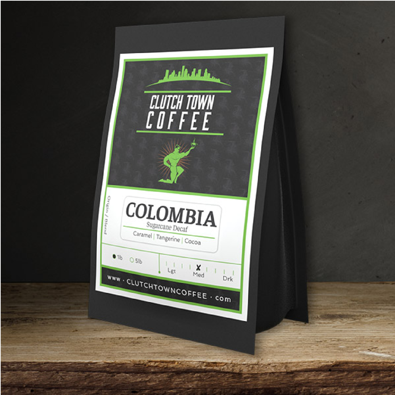 Colombiai Decaf from Clutch Town Coffee