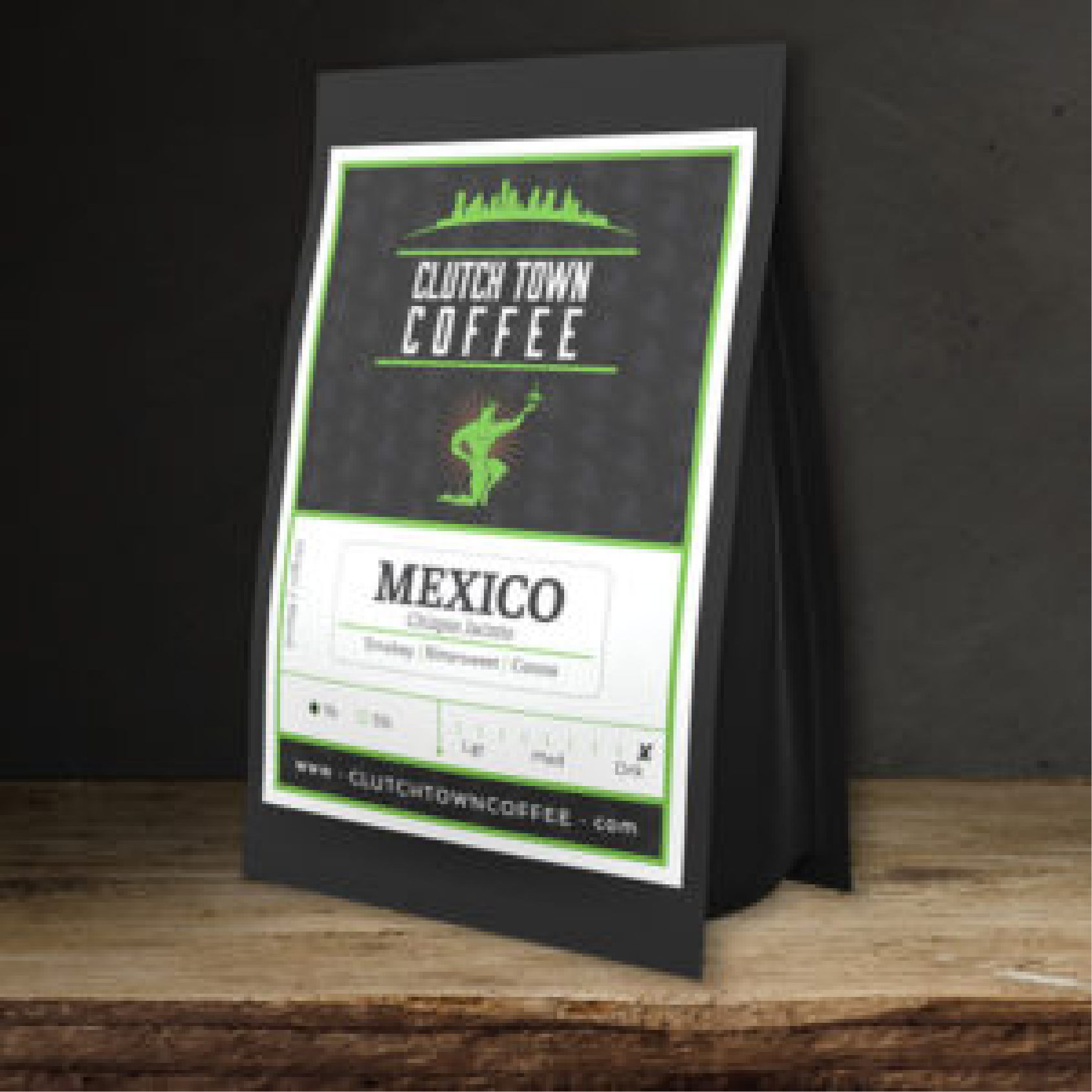 Mexico Chiapas from Clutch Town Coffee