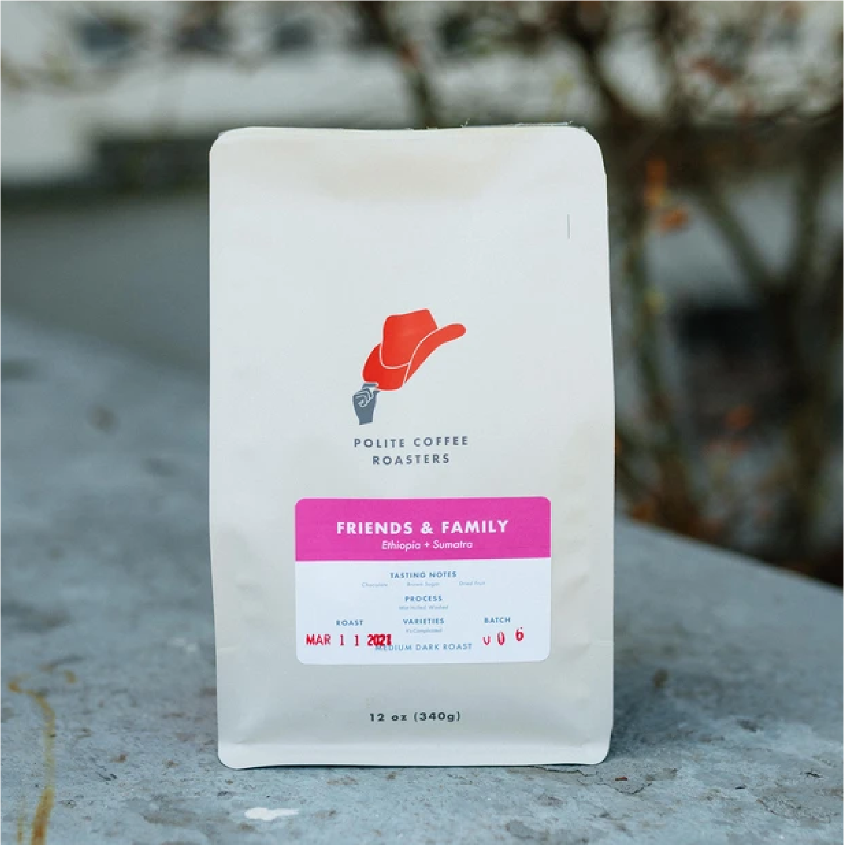 Friends & Family Ethopia + Sumatra from Polite Coffee
