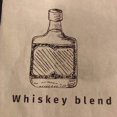 Whiskey Blend from Blessed Bru Coffee Cafe