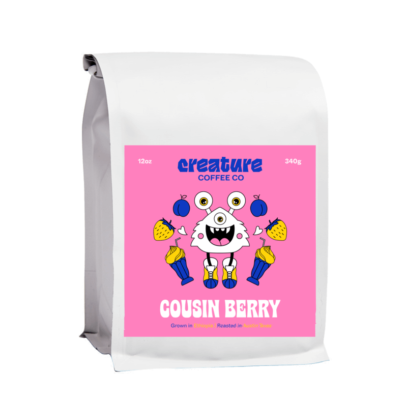 Cousin Berry from Creature Coffee Co