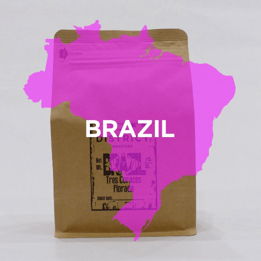 Brazil - Tres Coraces from DISTRICT Roasters