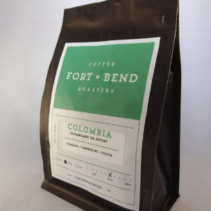 Colombia: Sugarcane EA Decaf from Fort Bend Coffee Roasters