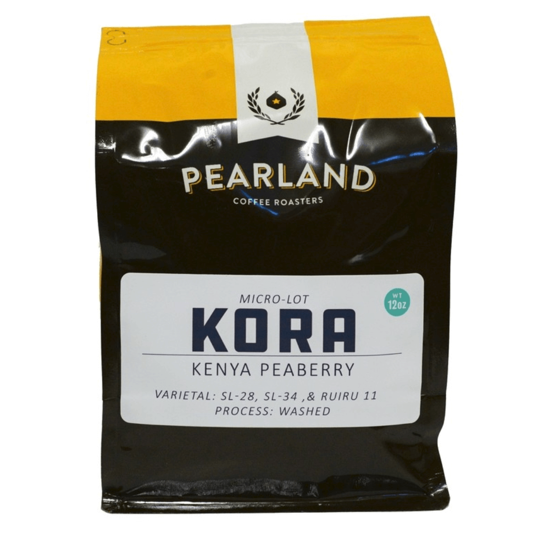 Kenya Peaberry - Kora Washing Station from Pearland Coffee Roasters