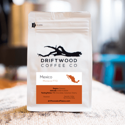 Mexico Topacia from Driftwood Coffee Co