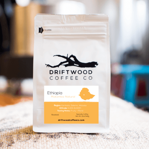 Ethiopia Mokamba Natural from Driftwood Coffee Co