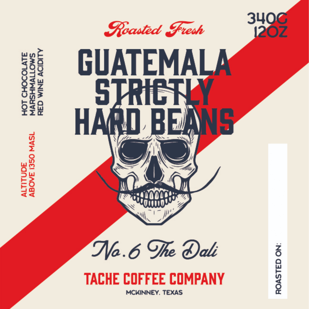 Guatemala Strictly Hard Beans from Tache Coffee Company