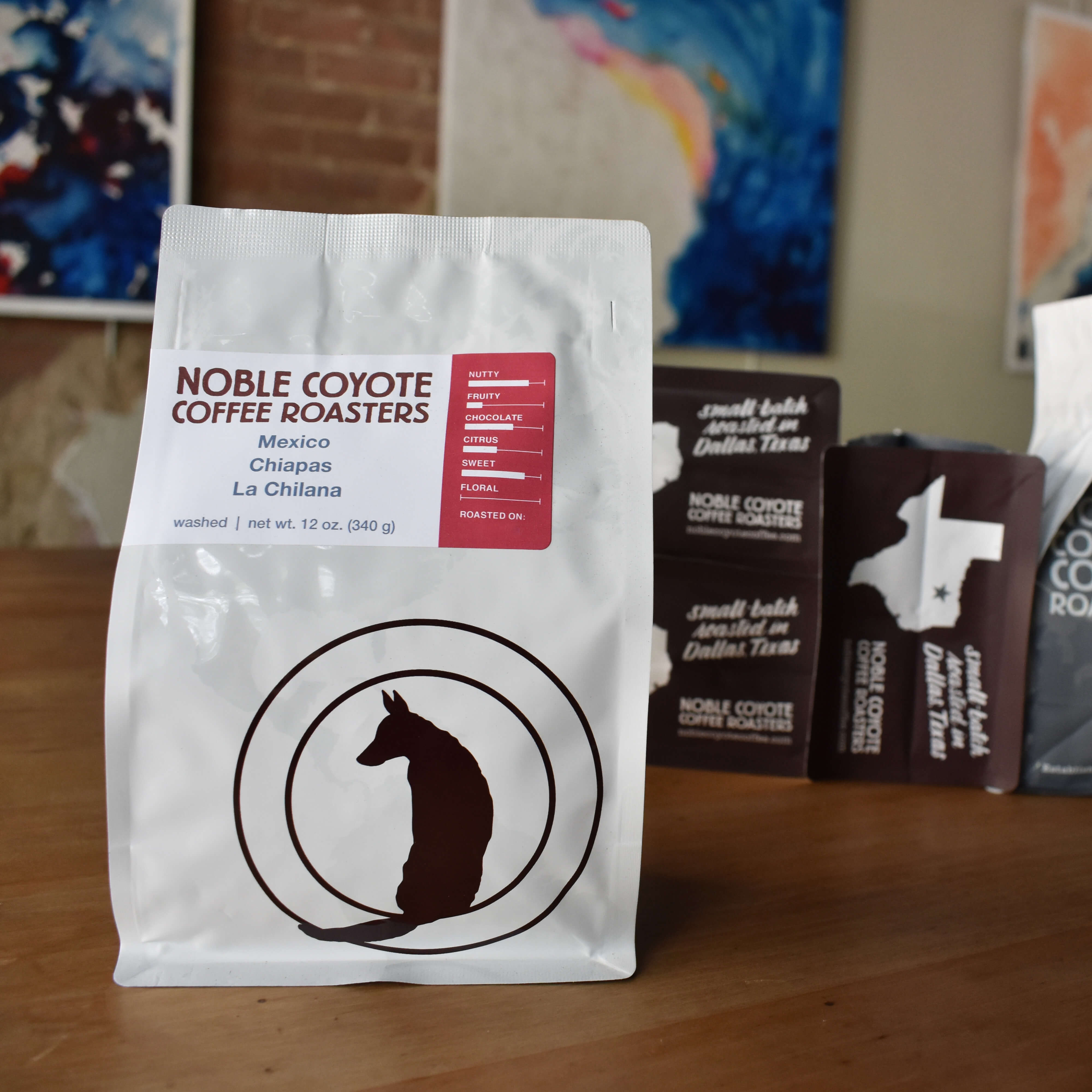 Mexico Chiapas La Chilana from Noble Coyote Coffee Roasters