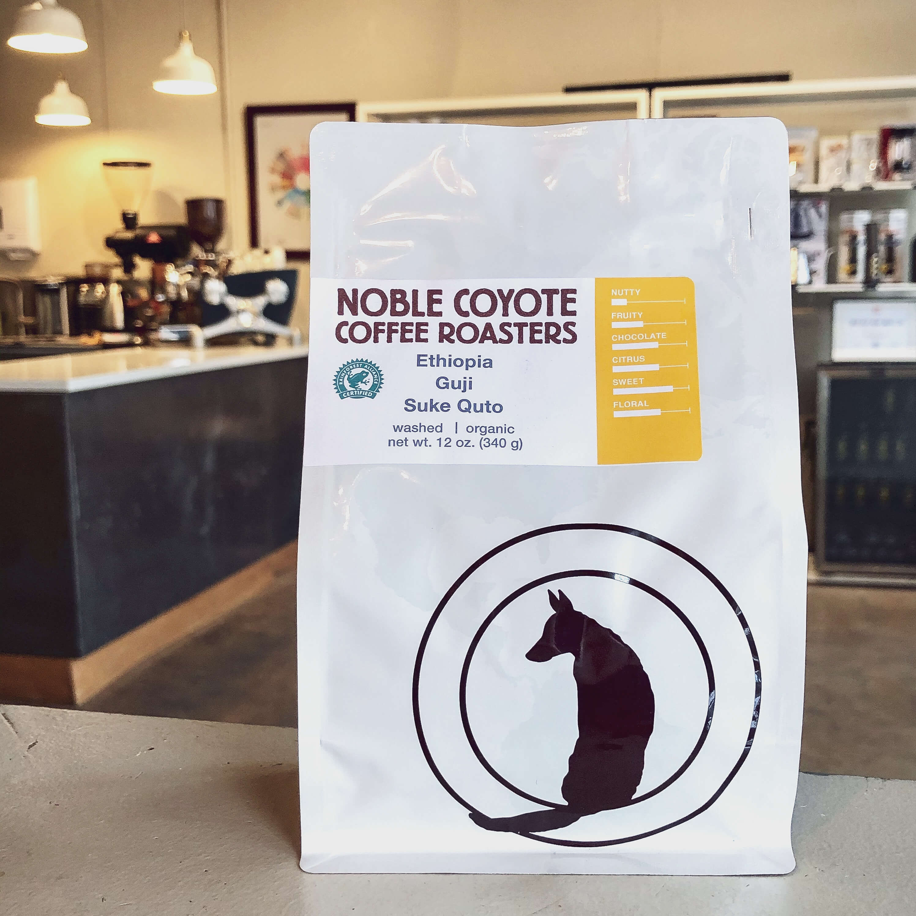 Ethiopia Suke Quto from Noble Coyote Coffee Roasters