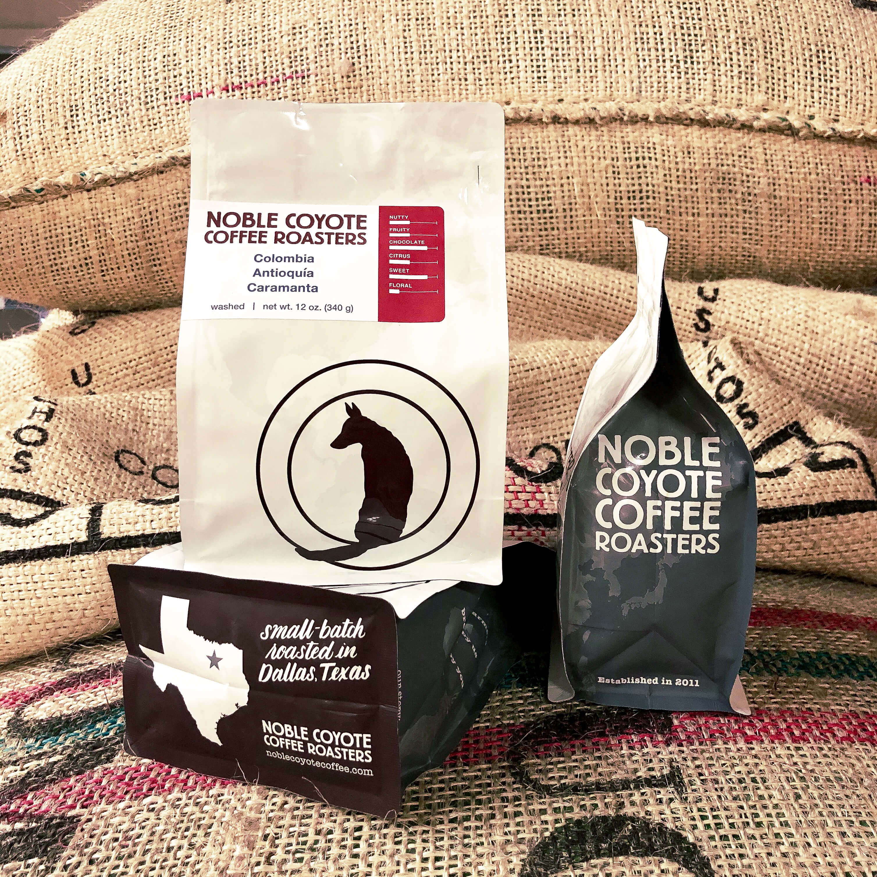 Colombia Caramanta from Noble Coyote Coffee Roasters
