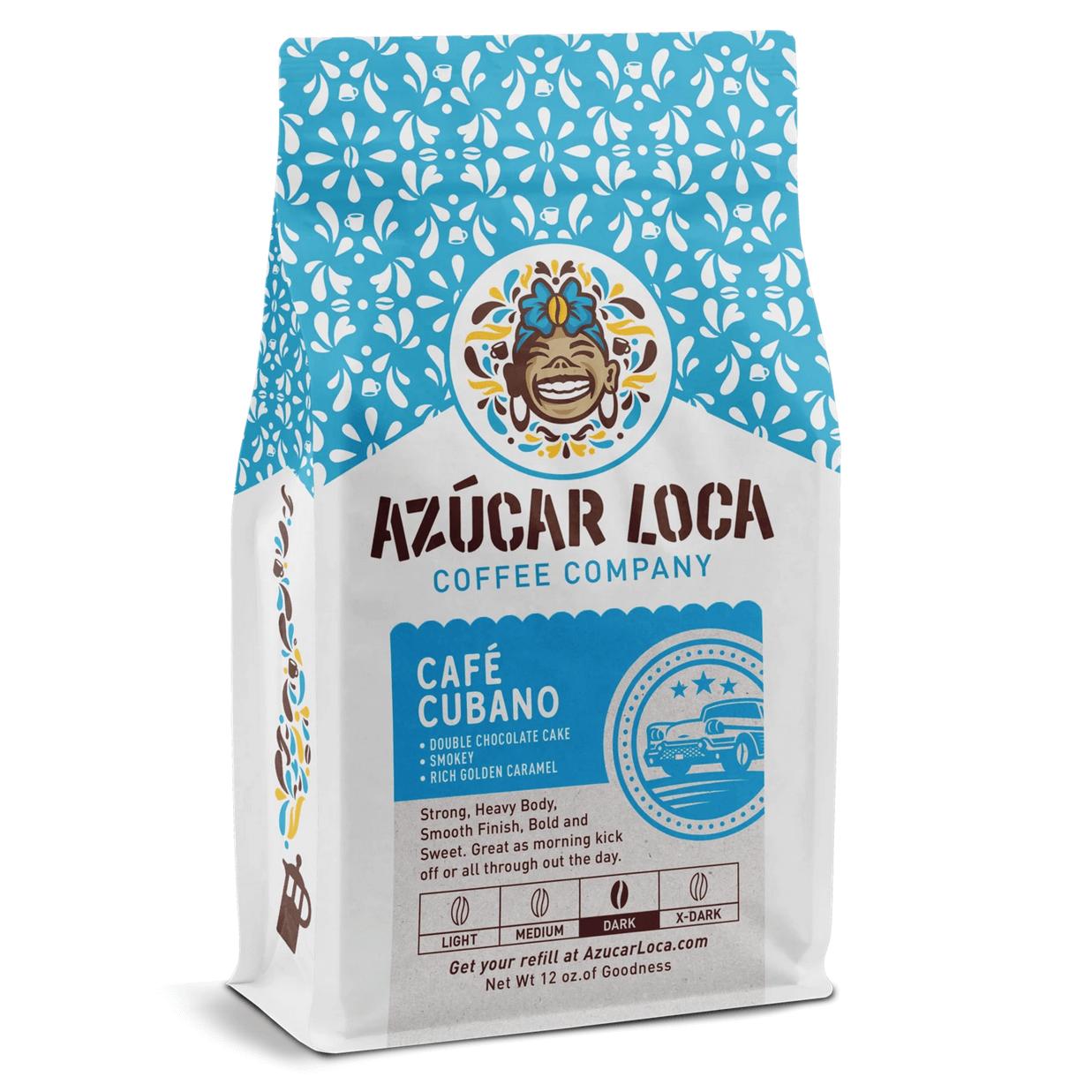 Café Cubano from Azucar Loca Coffee Company
