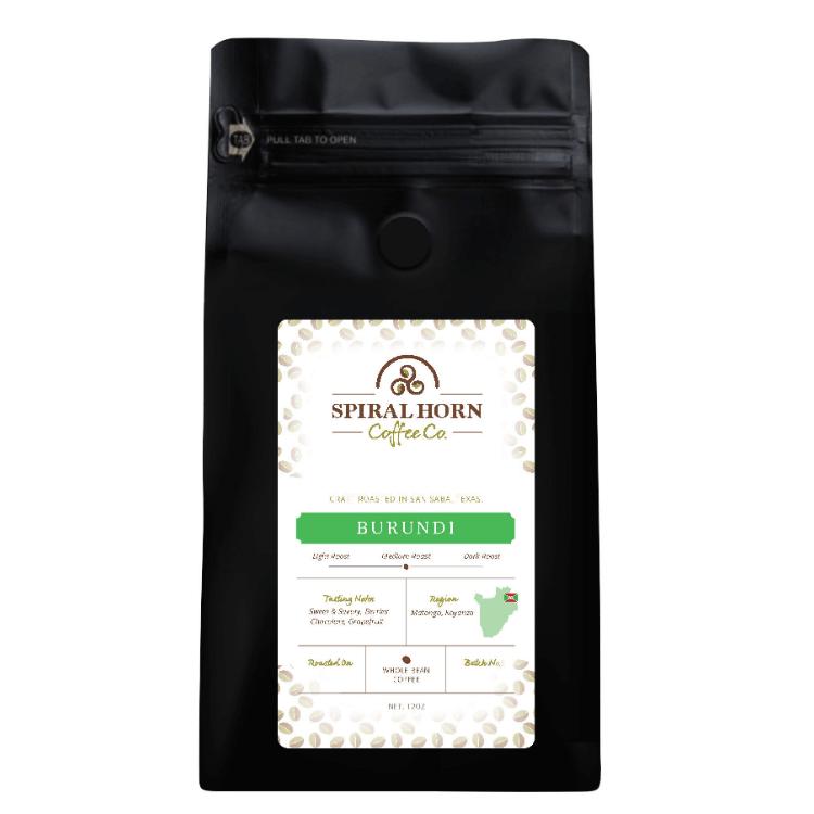 Burundi - Microlot from Spiral Horn Coffee Co.