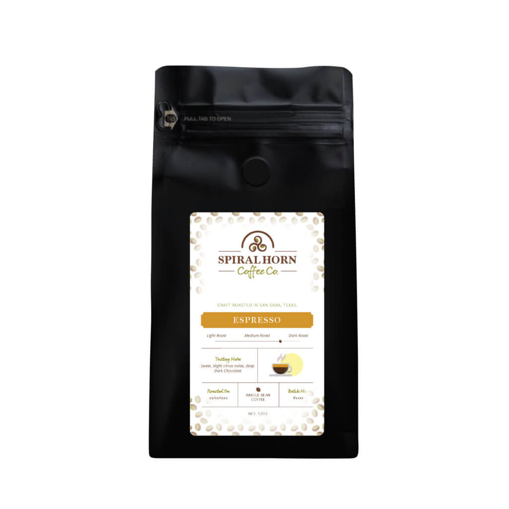 Espresso Blend from Spiral Horn Coffee Co.