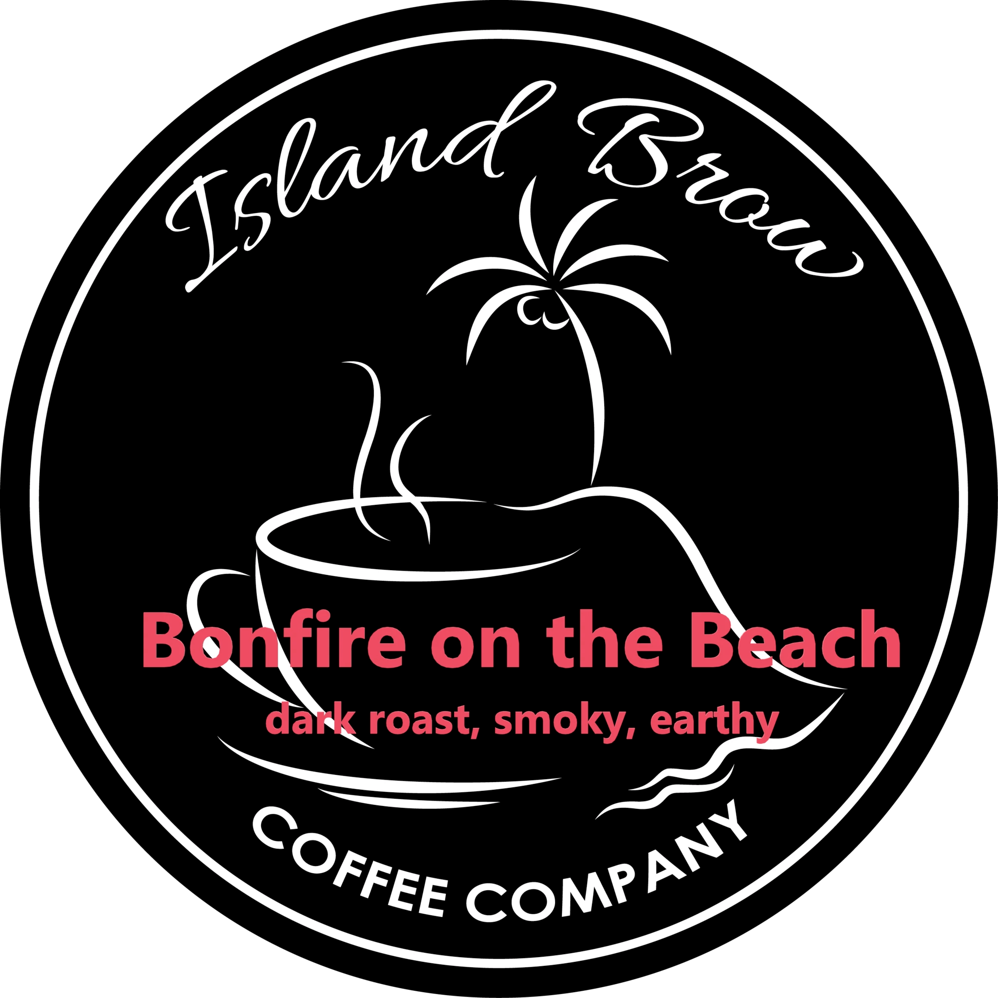 Bonfire on the Beach from Island Brow Coffee Company