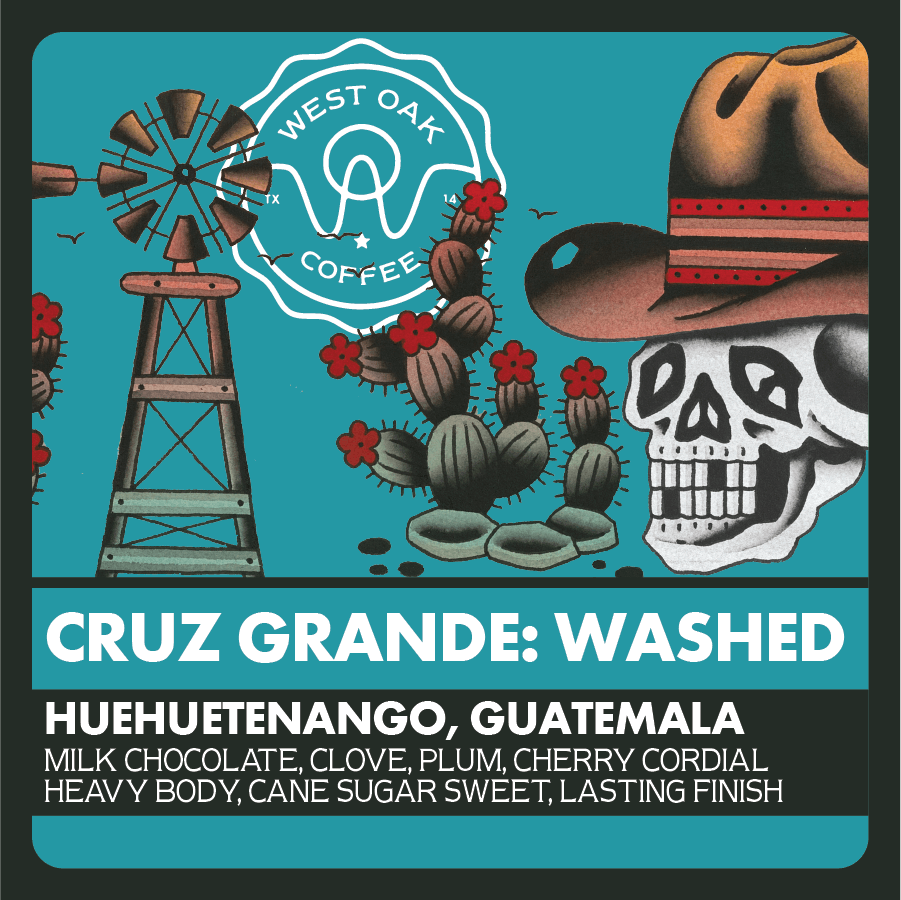 Cruz Grande Washed - Guatemala from West Oak Coffee