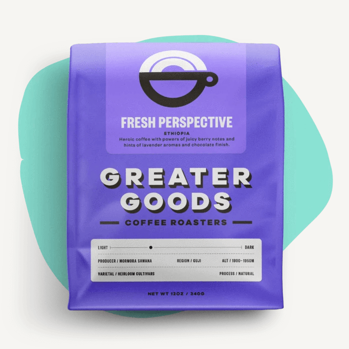 Fresh Perspective from Greater Goods Coffee Co.