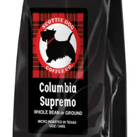 Colombia Supremo from Scottie Dog Coffee