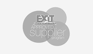 Exit Logo Grey