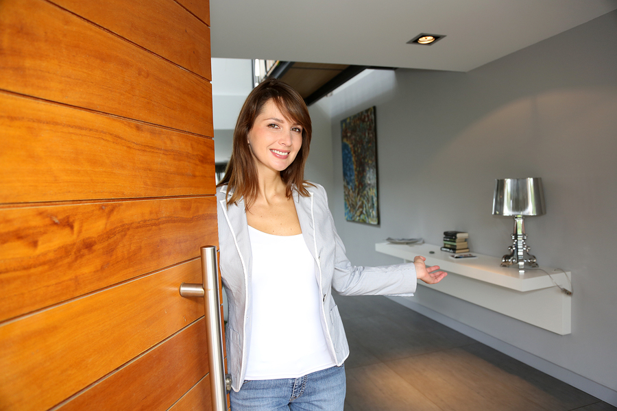 Open door - SmartZip Door Knocking