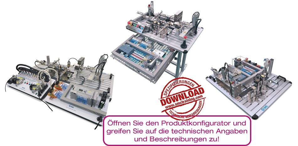 AUTOMATE-200 Diese didaktische Vorrichtung ermöglicht auf einfache und intuitive Art die Aneignung der Grundzüge der Automatisierung