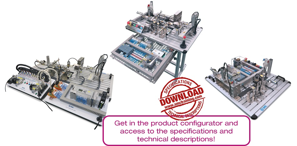 AUTOMATE-200 - The didactic equipment that allows the easy and intuitive learning of the basic principles of automation