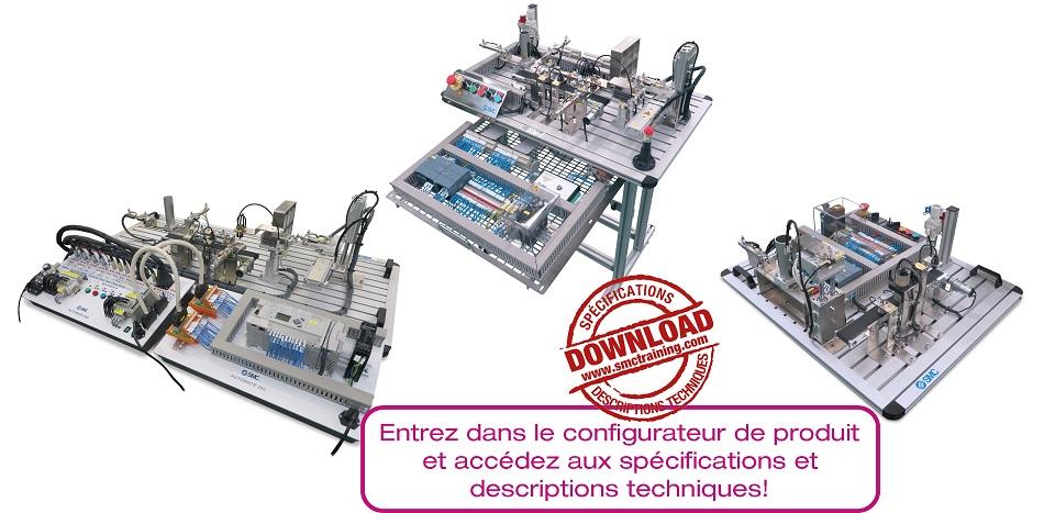 AUTOMATE-200 - L'équipement didactique qui permet la formation dans les principes de base de l'automatisation de façon facile et intuitive