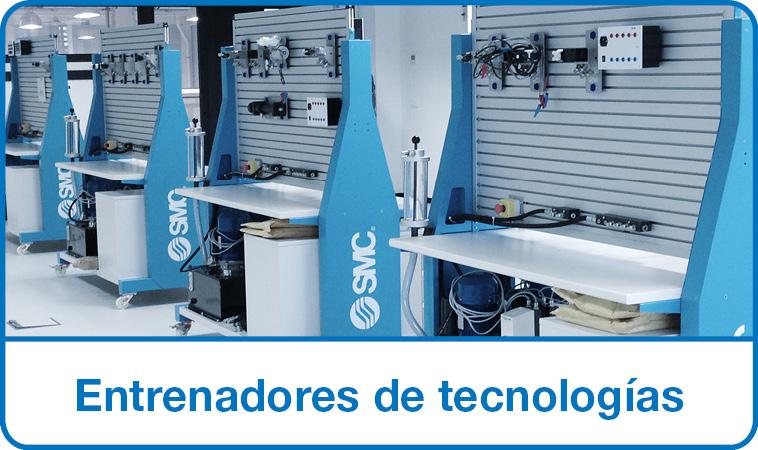 Entrenadores tecnologías