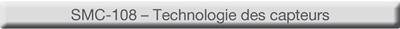 eLEARNING-200 cours SMC-108 - Technologie des capteurs