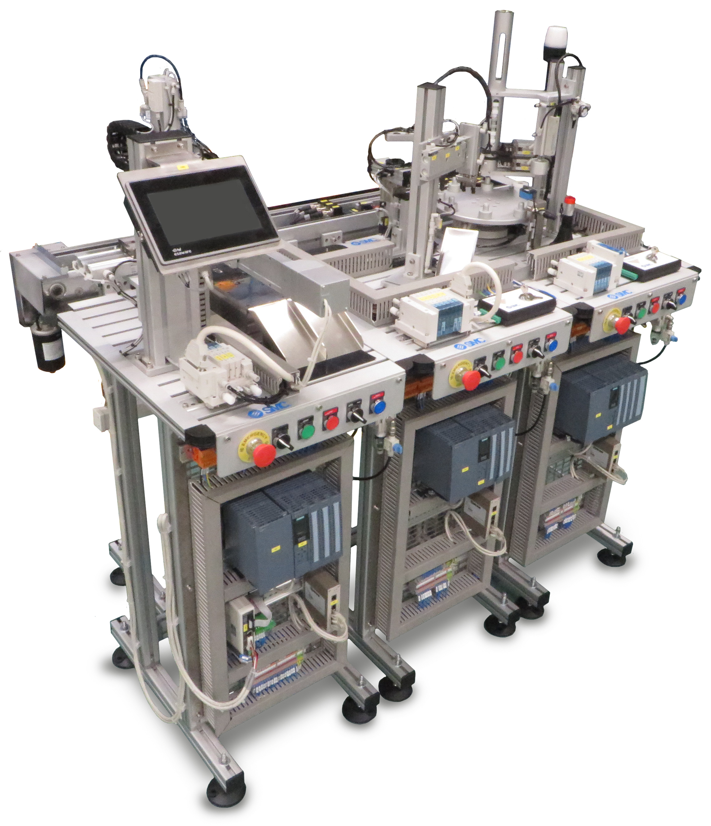 Configuración neumática - FAS-200 SE I4.0