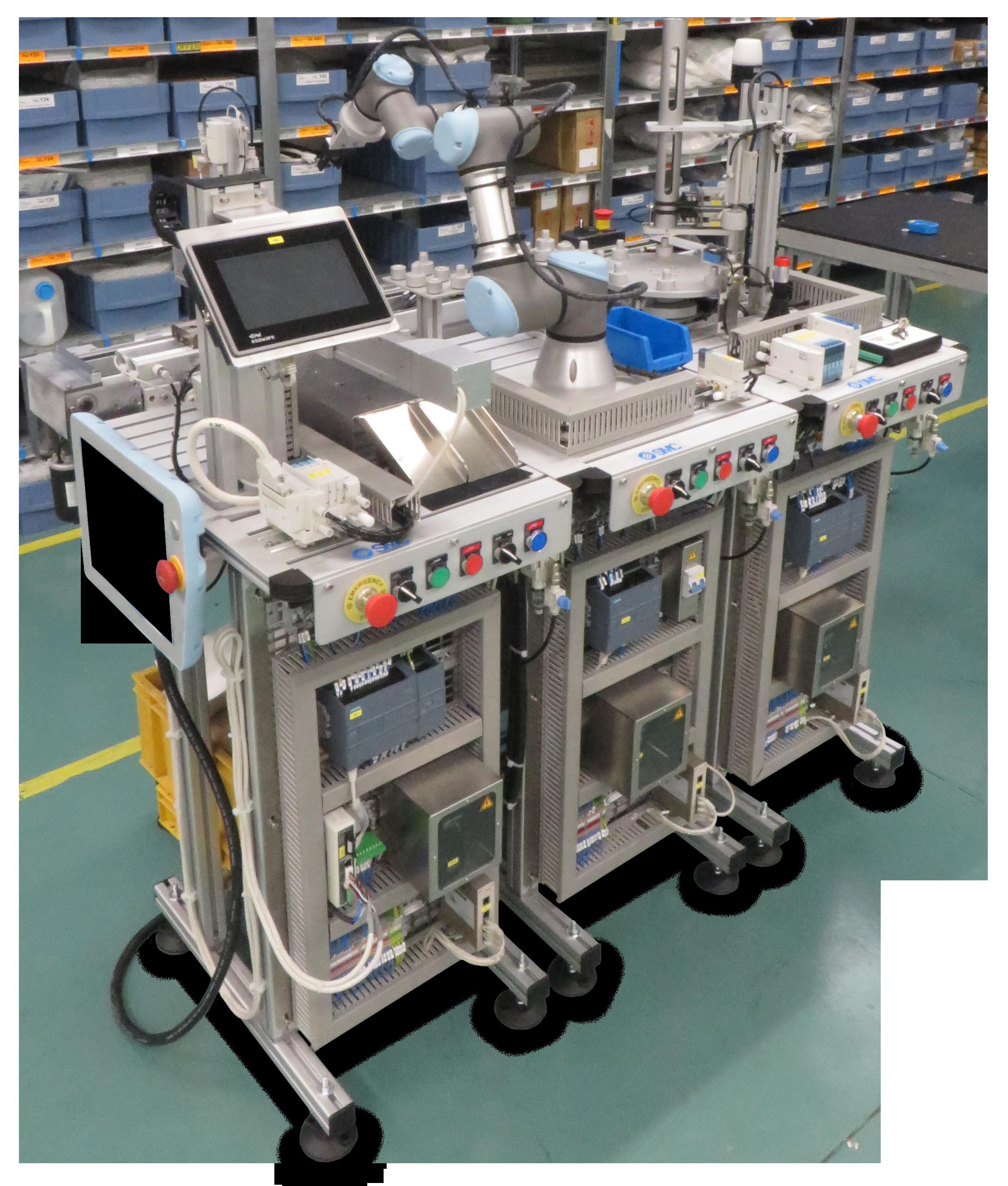 Configuración cobot - FAS-200 SE I4.0