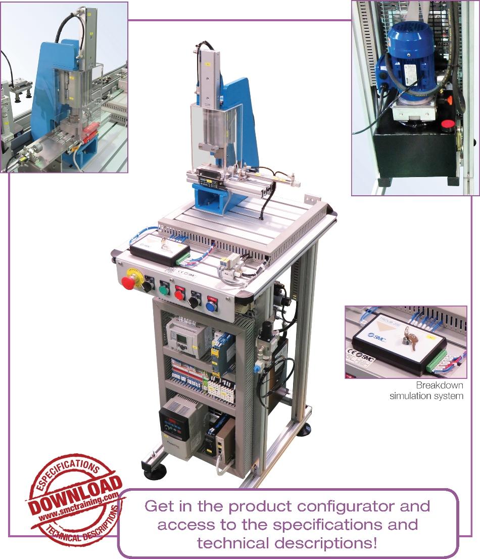 FAS-205 - Hydraulic pressing station