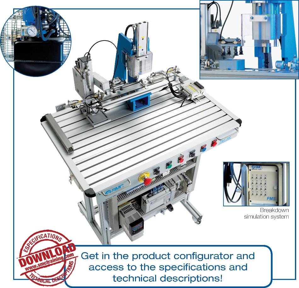 FMS-203 - Hydraulic press