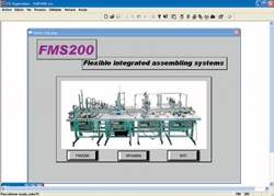 SCADA application FMS-200