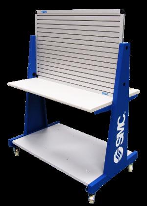 SAI2065 - Table roulante avec panneau à deux faces