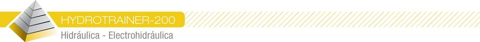 HYDROTRAINER-200 - Hidráulica – Electrohidráulica