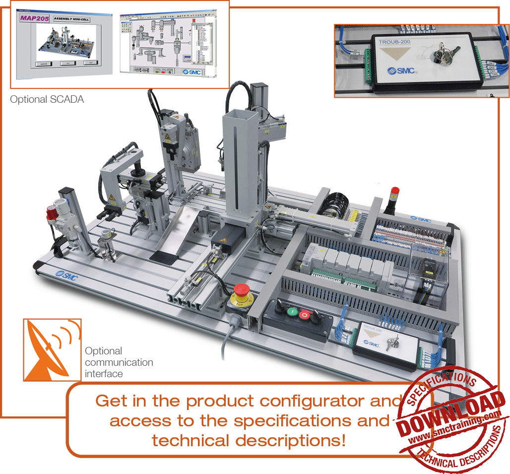 MAP-205 - The integrated solution: assembly minicell