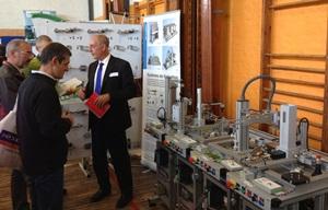 "Didactic fair ""Exhibition of new technologies"" (Belgium)"
