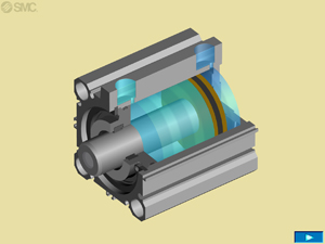 Compact Cylinder CQ2