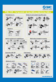 Components poster: PNEU-405 kit with its symbology