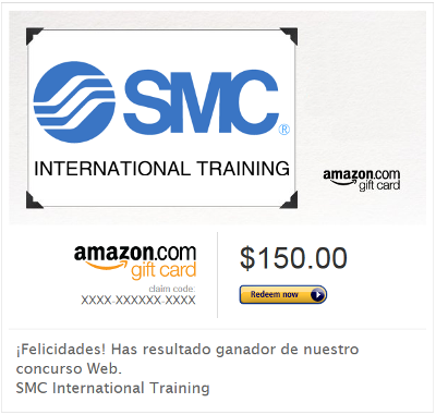 Sorteo / Concurso Web SMC International Training