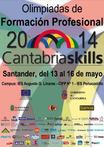 Cartel Cantabriaskills 2014